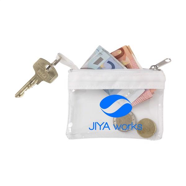 Trans Purse key/money purse - White