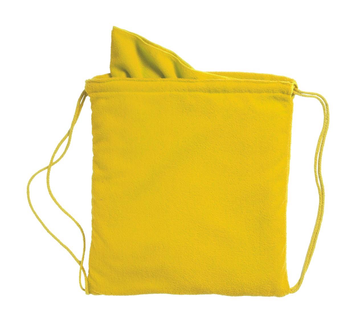 Ručník V Pytlíku Kirk - Žlutá