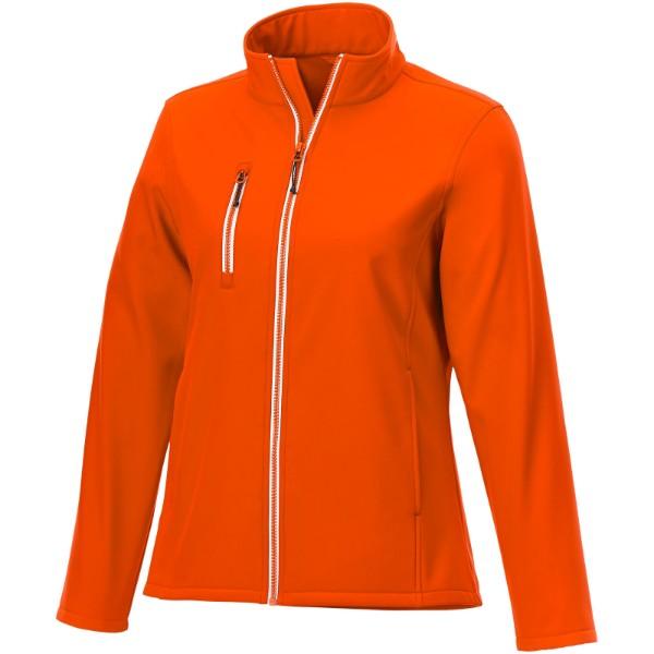 Orion women's softshell jacket - Orange / XXL