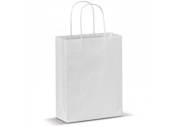 Kraft bag small - White