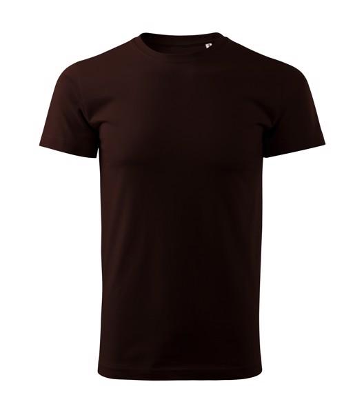 T-shirt men's Malfini Basic Free - Coffee / 3XL