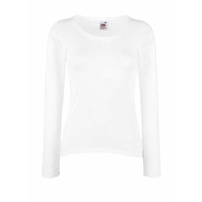 Damen T-Shirt 165 g/m² Lady-Fit Value Weight 61-404-0 - White / XL