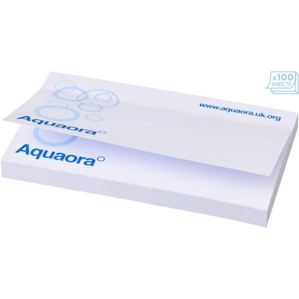 Samolepicí lístečky Sticky-Mate® 127x75mm - Bílá / 50 pages
