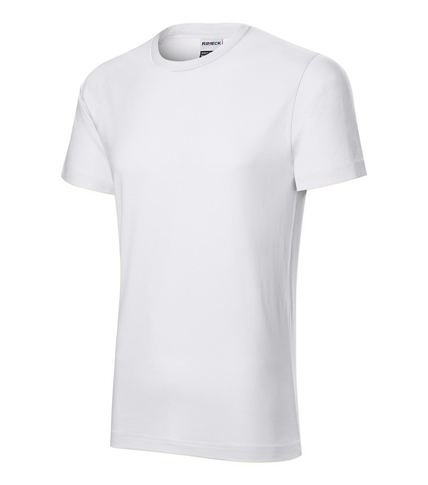 Tričko pánské Rimeck Resist - Bílá / XL