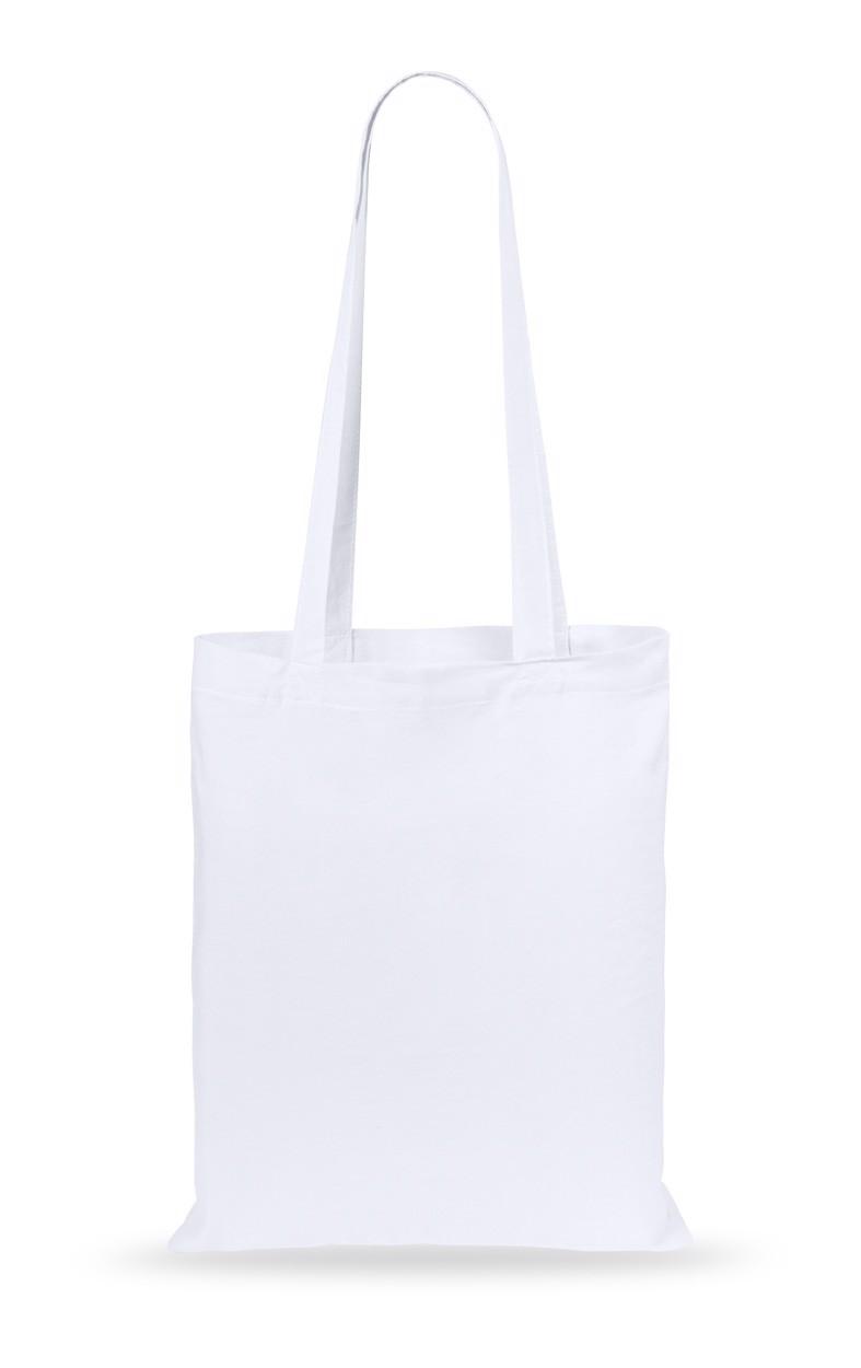 Cotton Shopping Bag Turkal - White