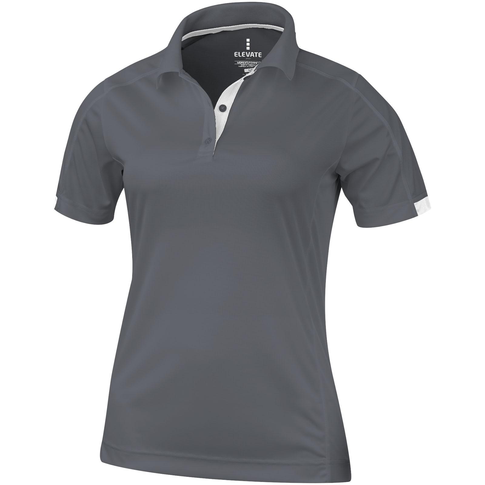 Kiso short sleeve women's cool fit polo - Steel Grey / XL