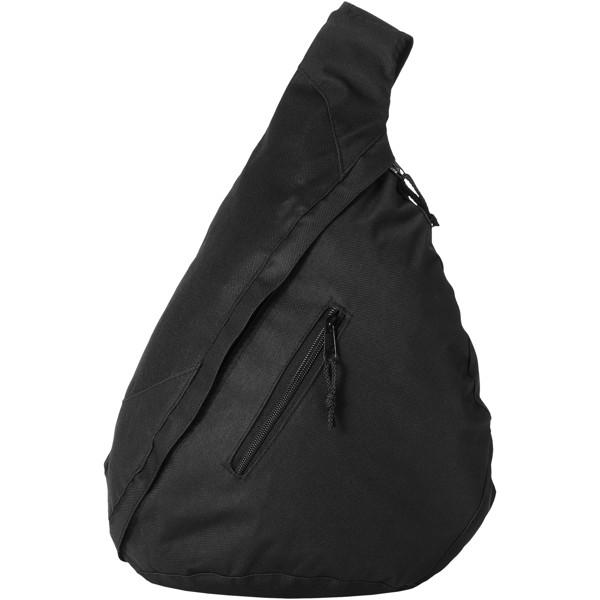 Městský trojúhelníkový batoh Brooklyn - Černá