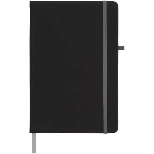 Zápisník Medium noir - Černá / Šedá