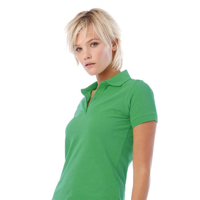 Damen Polo-Shirt 180 g/m2 Safran Pure Women Polo Pw455 - Kelly Green / M