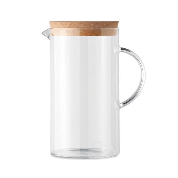 Borosilicate glass decanter 1L Osna Bold