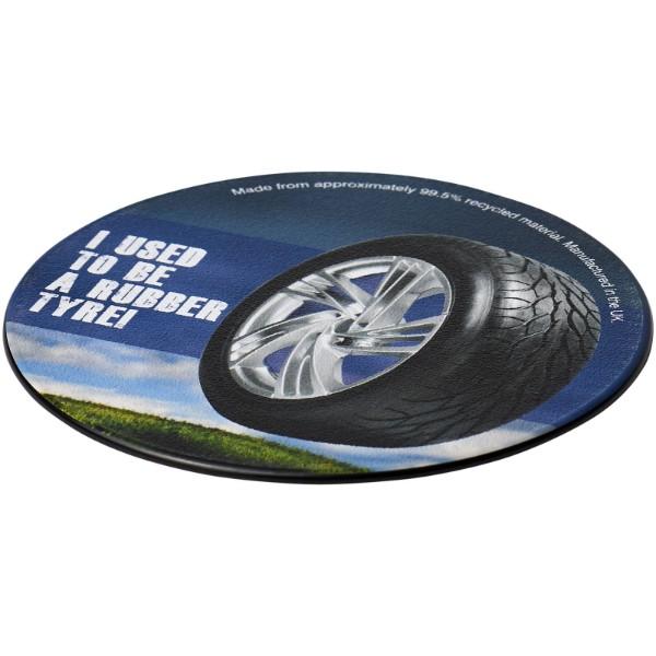 Kulatý tácek Brite-Mat® s materiálem z recyklovaných pneumatik