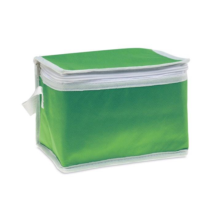 Torba chłodząca na 6 puszek Promocool - zielony