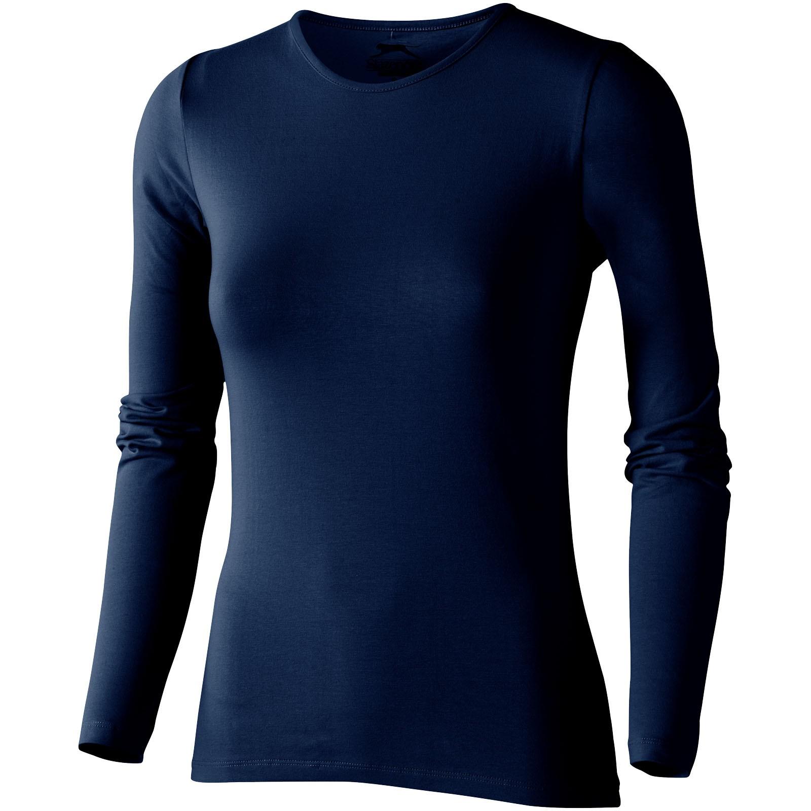 Dámské triko Curve s dlouhým rukávem - Navy / XL