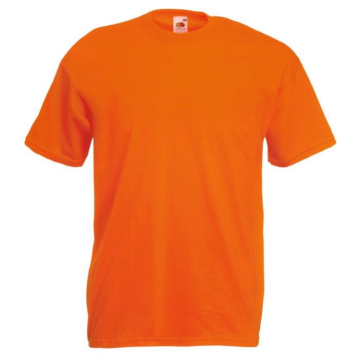 T-shirt 165 g/m² Value Weight T-Shirt 61-036-0 - Orange / L