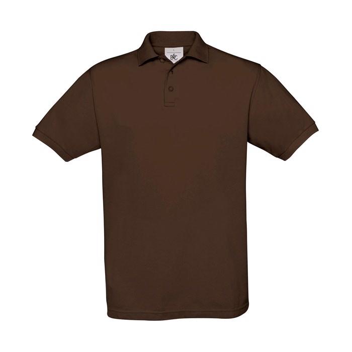 Men's Polo Shirt 180 g/m2 Pique Polo Safran Pu409 - Brown / L