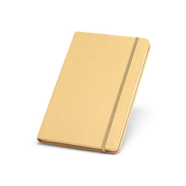 PORTMAN. Σημειωματάριο Α5 - Σατέν Χρυσό