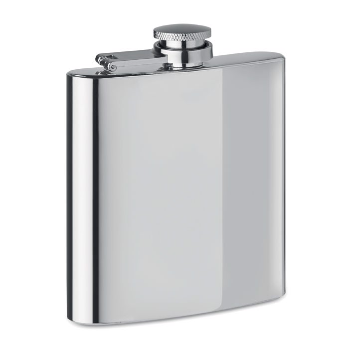 Slim hip flask 175ml Slimmy Flask + - Matt Silver
