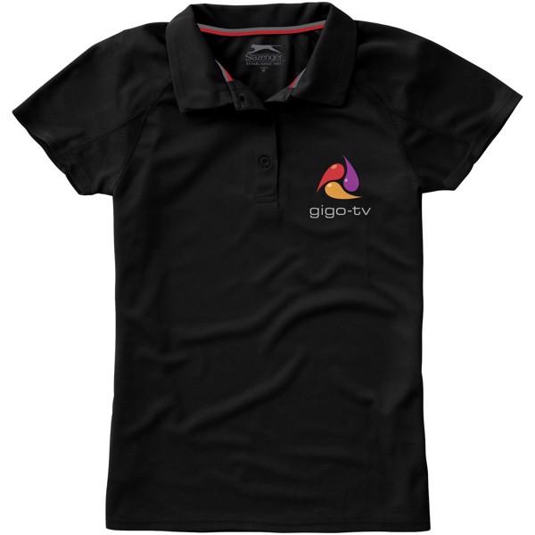 Dámská sportovní polokošile Game - Černá / XL