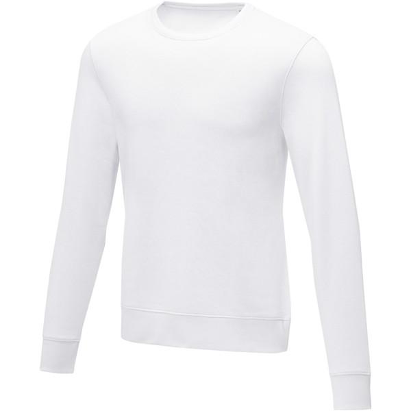 Zenon men's crewneck sweater - White / XL