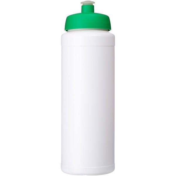 Baseline® Plus grip 750 ml sports lid sport bottle - White / Green