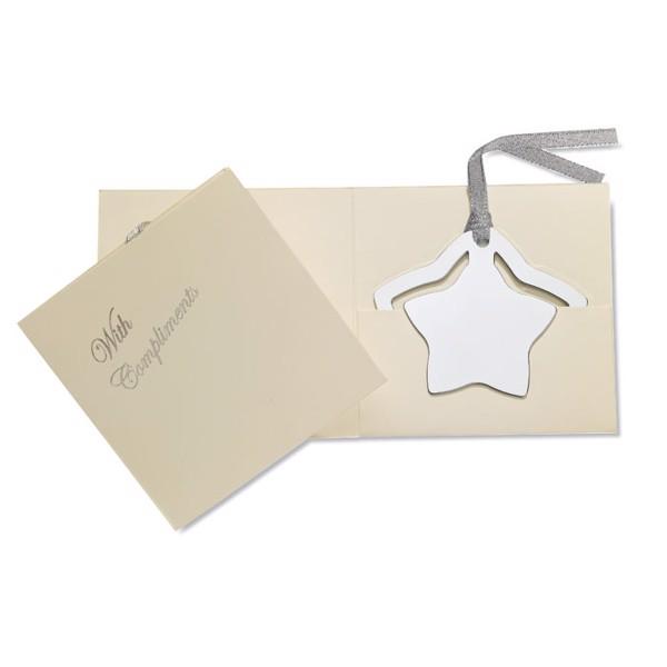Star shape bookmark Estel
