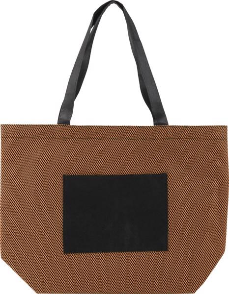 Einkaufstasche 'Nina' aus Non-Woven - Orange