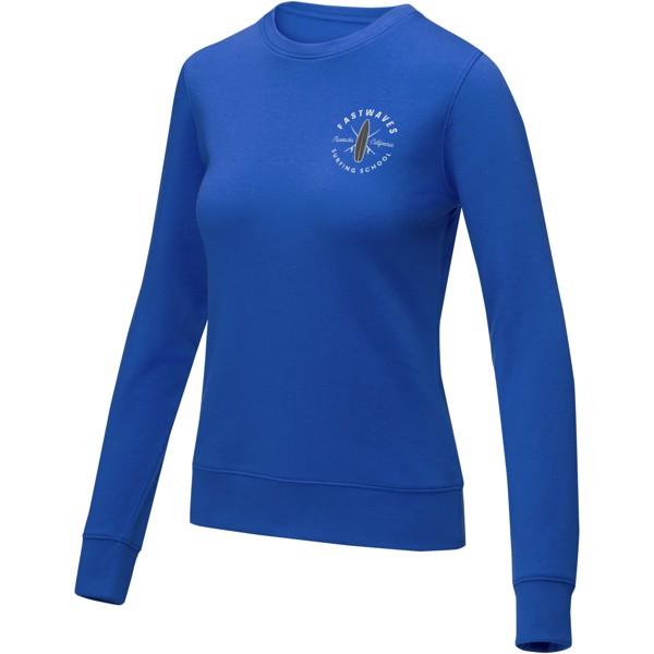 Zenon women's crewneck sweater - Blue / L