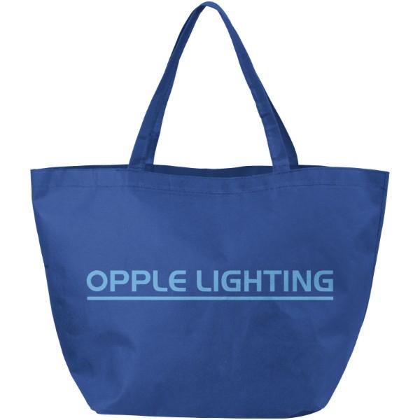 Maryville non-woven shopping tote bag - Royal blue