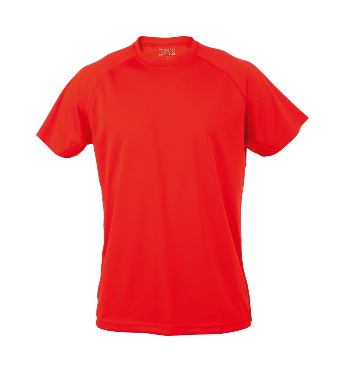 Sportovní Tričko Tecnic Plus T - Červená / XXL