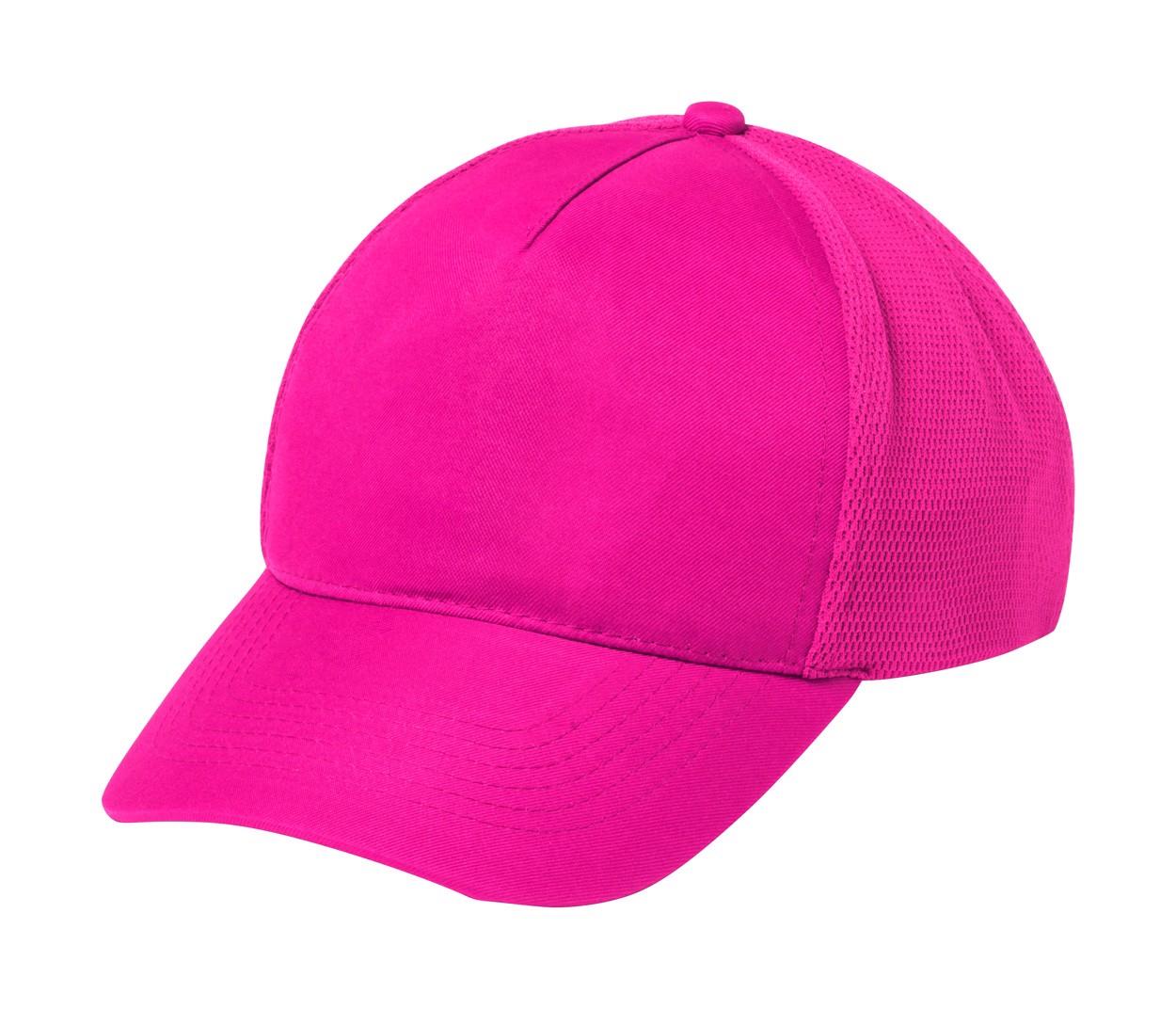 Baseballová Čepice Karif - Růžová