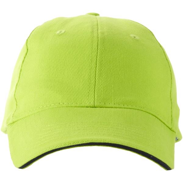 Challenge 6 panel sandwich cap - Apple green