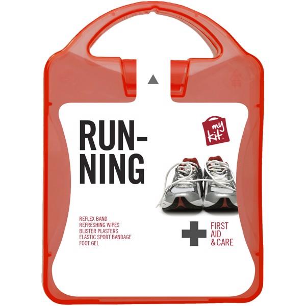 Lékarnička pro běžce - Červená s efektem námrazy