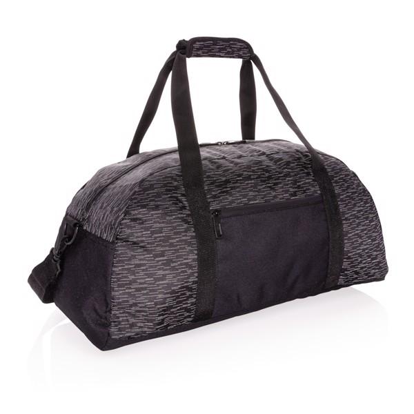 Reflexní víkendová taška z RPET AWARE™