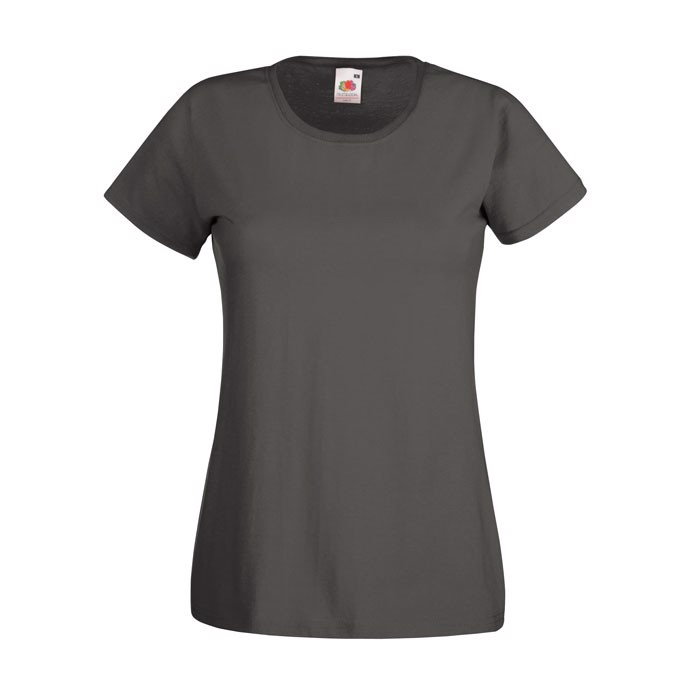 Lady-Fit T-Shirt 165 g/m² Lady-Fit Value Weight 61-372-0 - Light Graphite / XXL