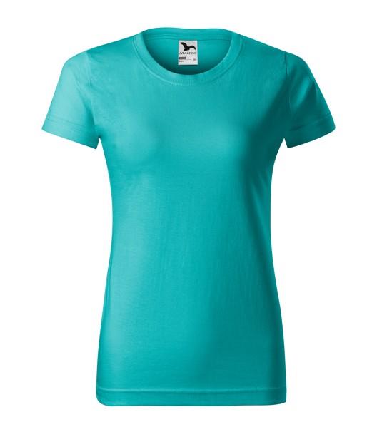 T-shirt women's Malfini Basic - Emerald / 2XL