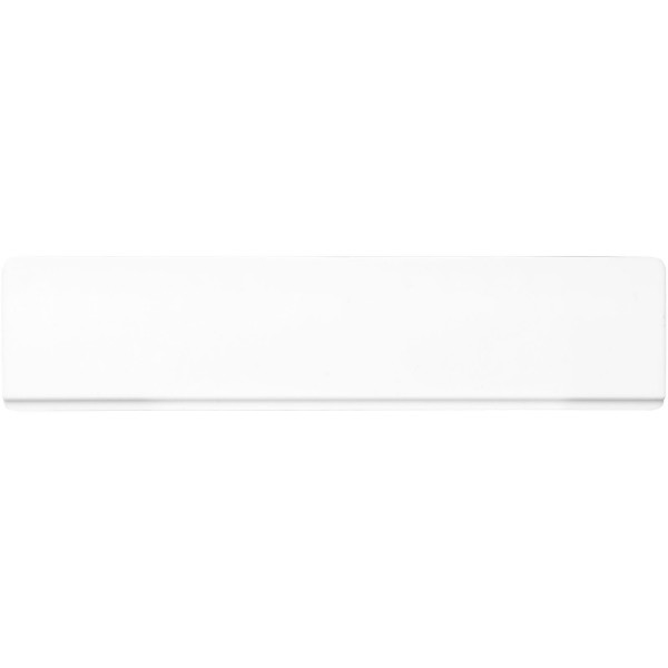 Renzo 15 cm plastic ruler - White