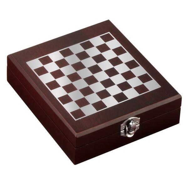 Zestaw do wina z szachami Sublime