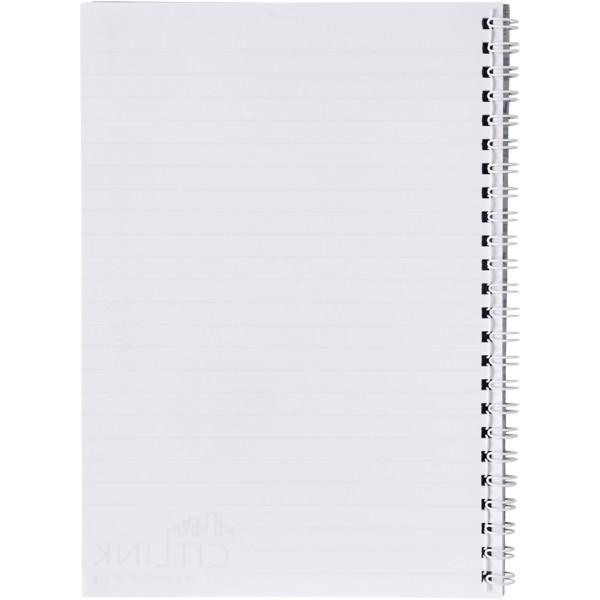 Poznámkový blok Desk-Mate® wire-o A4 - Bílá / 50 pages