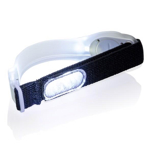 Bezpečnostní LED pásek - Bílá / Černá