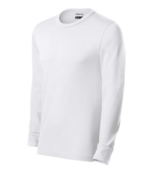 T-shirt unisex Rimeck Resist LS - White / 2XL