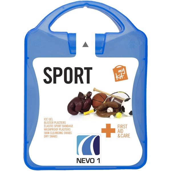Lékarnička pro sportovce - Modrá