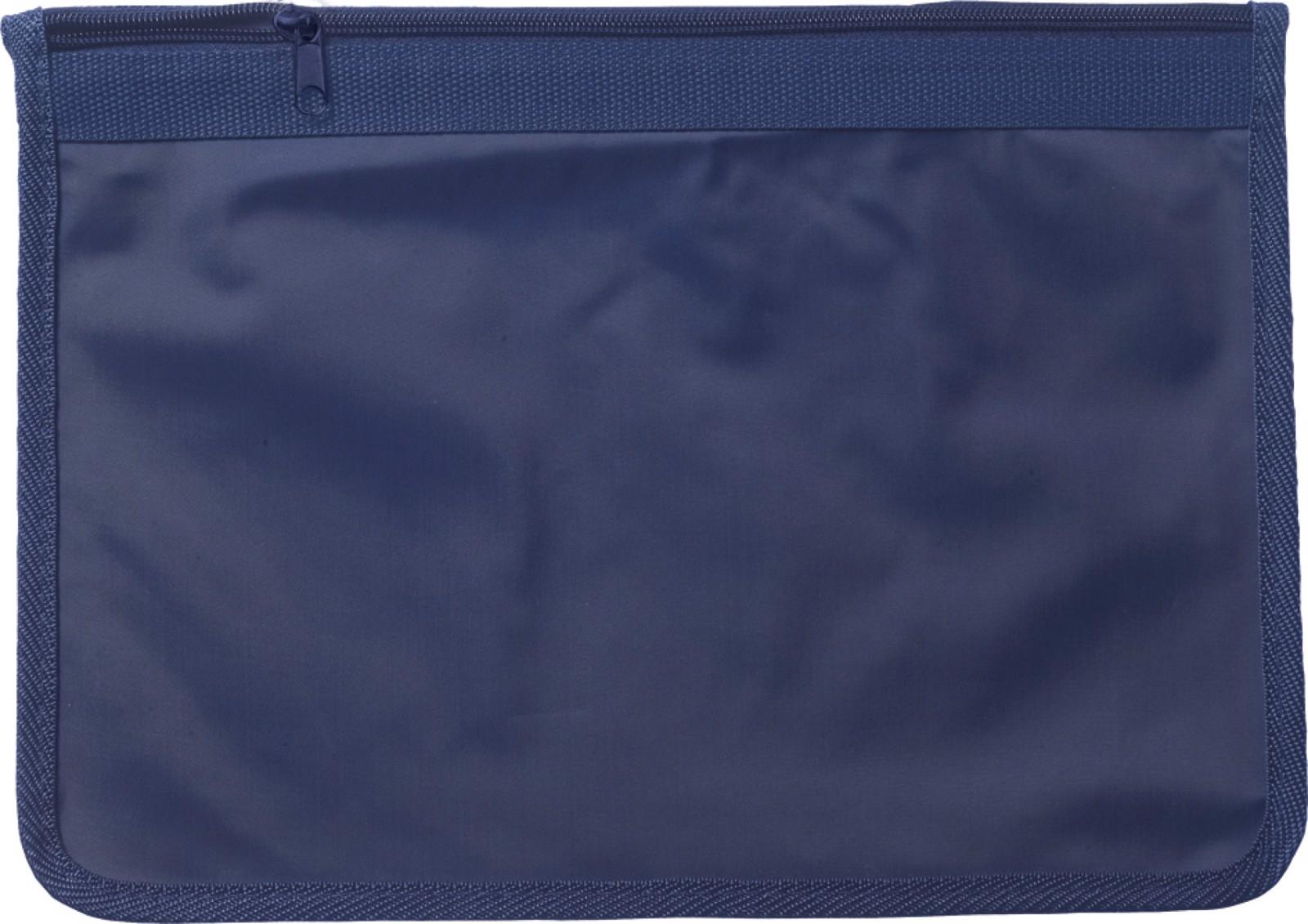 Nylon (70D) document bag - Blue