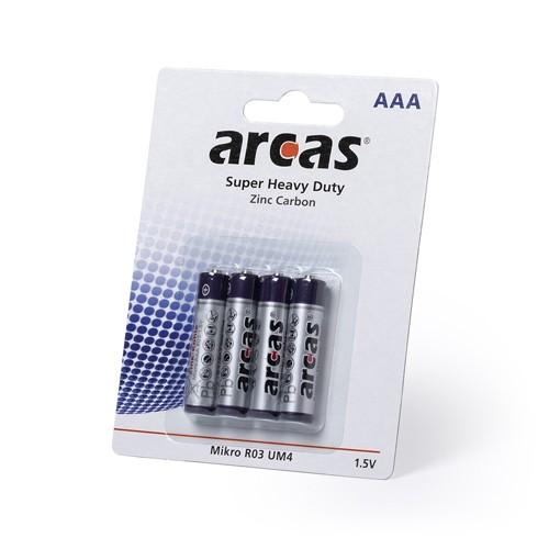 Blister 4 Pilhas 1,5V AAA/ R03