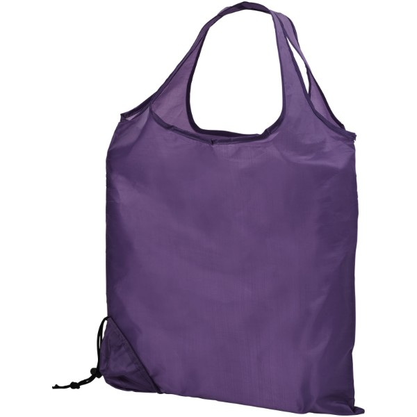 Scrunchy shopping tote bag - Lavender