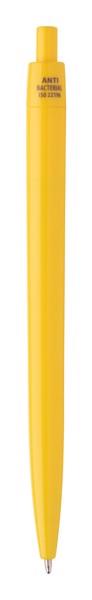 Anti-Bacterial Ballpoint Pen Licter - Yellow
