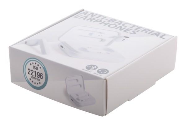 Antibakterijske Bluetooth slušalke Kikey - White