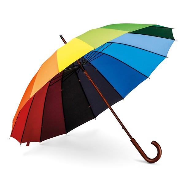DUHA. Deštník s 16 panely