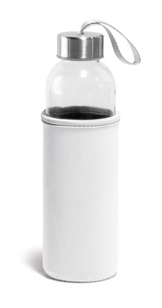 RAISE. Sports bottle 520 ml - White