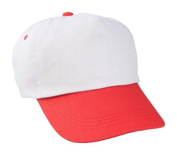 Baseballová Čepice Sport - Bílá / Červená