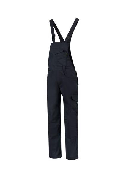 Pracovní kalhoty s laclem unisex Tricorp Dungaree Overall Industrial - Námořní Modrá / S